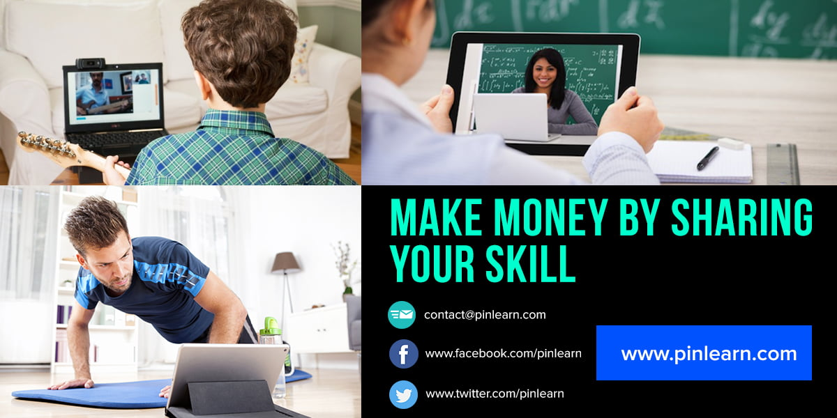 Make Money By Sharing Your Skill