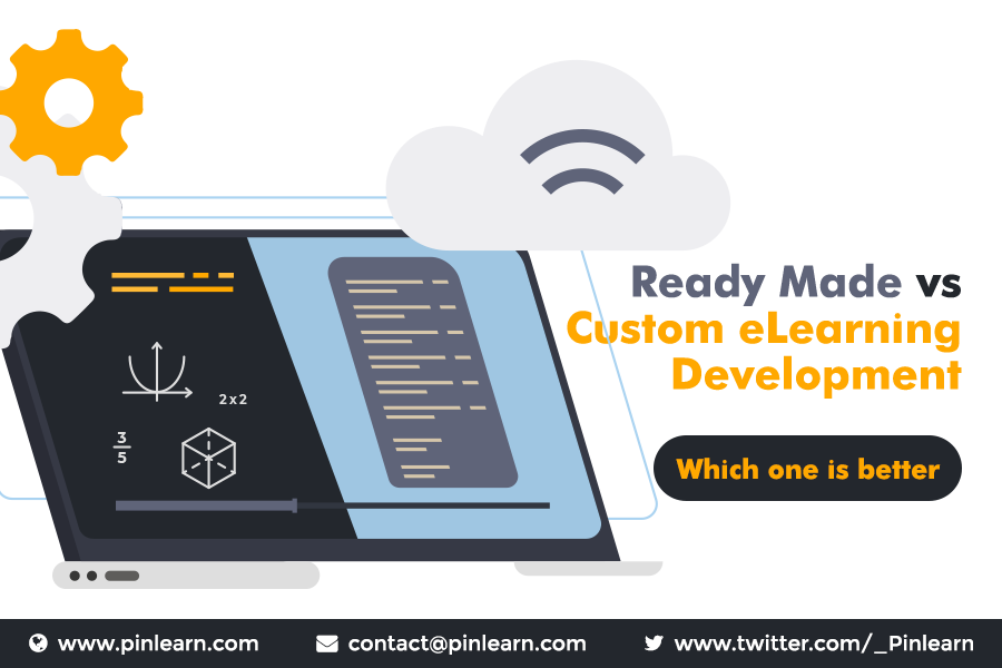 Readymade vs Custom eLearning development