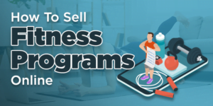 how to sell fitness program online