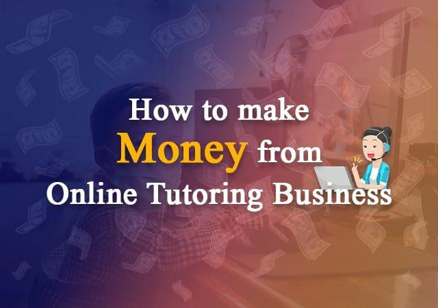 how to make money tutoring